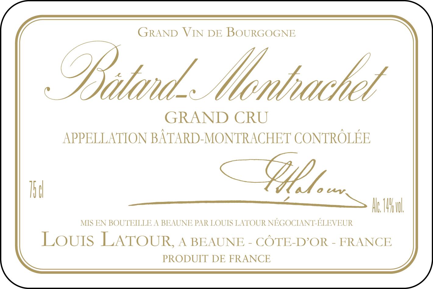Fabuleux Bâtard-Montrachet Grand Cru - Maison Louis Latour KJ25