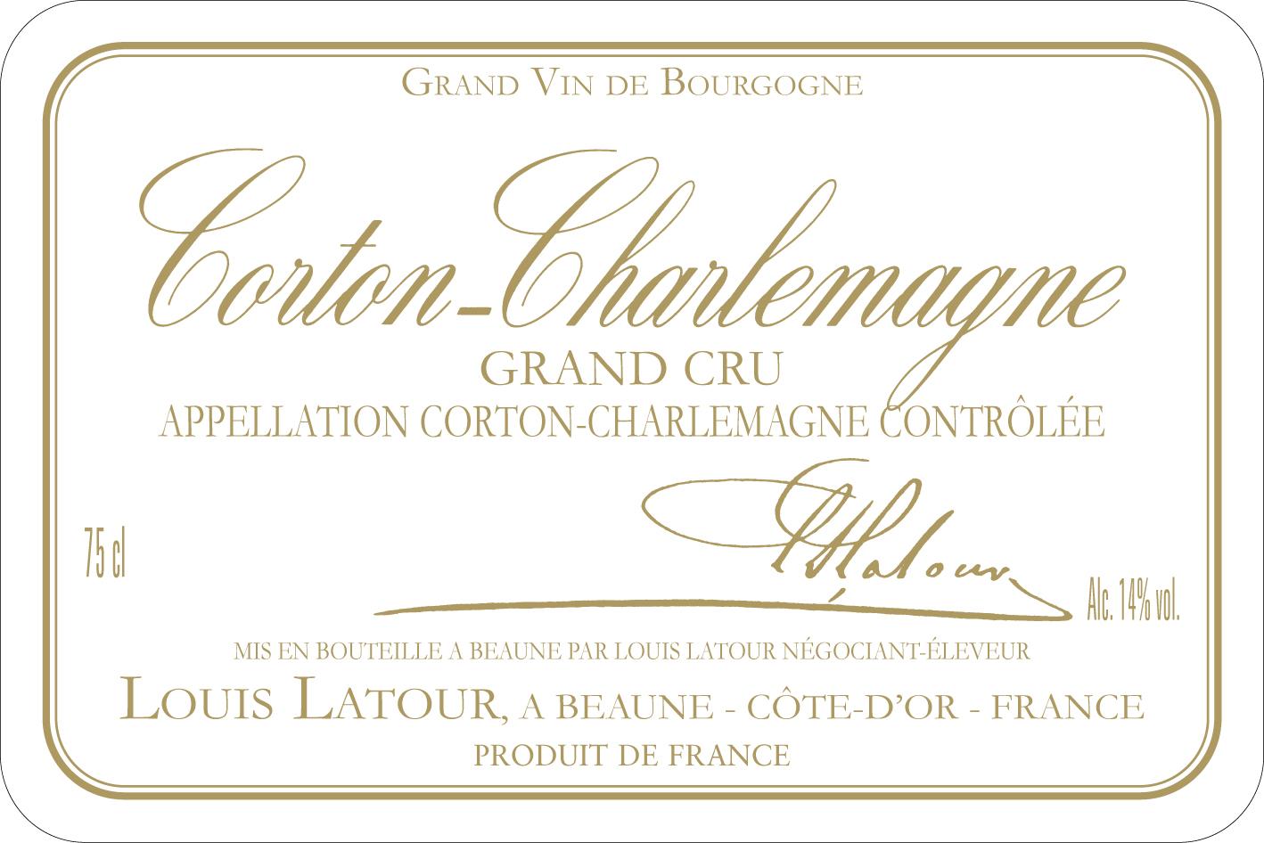 Fabuleux Corton-Charlemagne Grand Cru - Maison Louis Latour KJ25